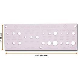 Инструмент для измерения резьбы прессовых маслёнок Groz THT-01, , 637.00 грн, Инструмент для измерения резьбы прессовых маслёнок Groz THT-01, Groz, Гидравлические муфты, шланги и пресс-масленки