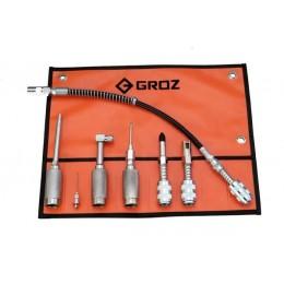 Набор адаптеров для быстрого соединения GROZ GAK/7, , 1689.00 грн, Набор адаптеров для быстрого соединения GROZ GAK/7, Groz, Гидравлические муфты, шланги и пресс-масленки