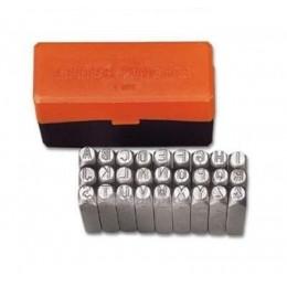 Буквенные клейма размером 3 мм Groz LP/3, , 466.00 грн, Буквенные клейма размером 3 мм Groz LP/3, Groz, Наборы цифровых и буквенных клейм