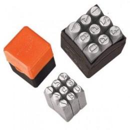 Цифровые клейма размером 6 мм Groz NP/6, , 294.00 грн, Цифровые клейма размером 6 мм Groz NP/6, Groz, Наборы цифровых и буквенных клейм