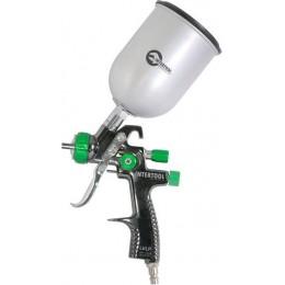Краскораспылитель LVLP GREEN NEW Профессиональный1.3мм Intertool PT-0131