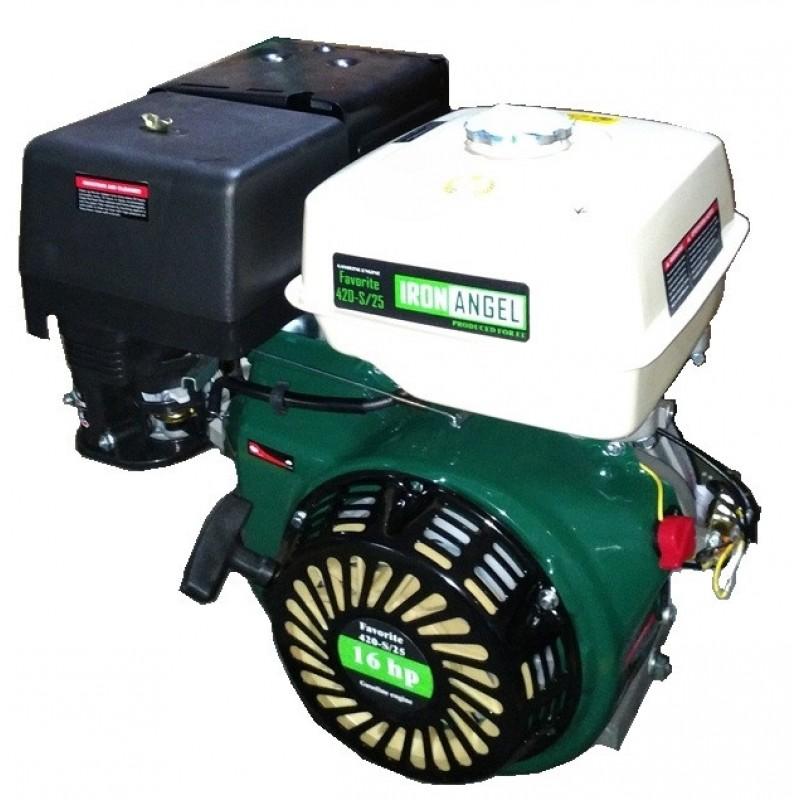 Двигатель бензиновый Iron Angel FAVORITE 420-S/25 (2001154) 7758.00 грн