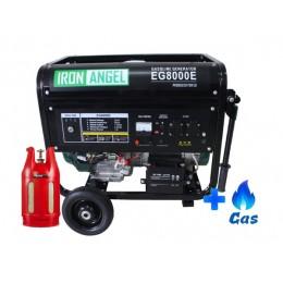 Гибридный генератор Iron Angel EG 8000E LPG, , 20089.02 грн, Гибридный генератор Iron Angel EG 8000E LPG, PG , Газовые генераторы