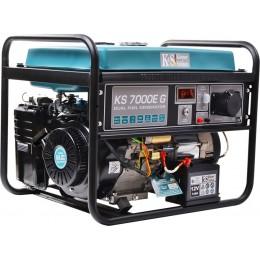 Двухтопливный генератор Konner & Sohnen KS 7000E G, , 25739.00 грн, Двухтопливный генератор Konner & Sohnen KS 7000E G, Konner and Sohnen, Бензиновые генераторы