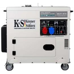 Дизельный генератор Konner&Sohnen KS 9200HDES-1/3 ATSR, , 53507.00 грн, Дизельный генератор Konner&Sohnen KS 9200HDES-1/3 ATSR, Konner and Sohnen, Дизельные генераторы