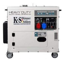 Дизельный генератор Konner&Sohnen KS 8200HDES-1/3 ATSR, , 47039.00 грн, Дизельный генератор Konner&Sohnen KS 8200HDES-1/3 ATSR, Konner and Sohnen, Дизельные генераторы