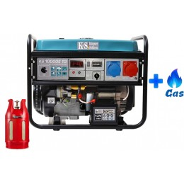 Двухтопливный генератор Konner&Sohnen KS 10000E-1/3 LPG, , 35842.00 грн, Двухтопливный генератор Konner&Sohnen KS 10000E-1/3 LPG, Konner and Sohnen, Двухтопливный генератор