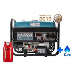 Двухтопливный генератор Konner & Sohnen KS 3000E LPG, , 15153.00 грн, Двухтопливный генератор Konner & Sohnen KS 3000E LPG, Konner and Sohnen, Двухтопливный генератор