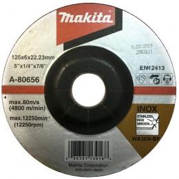 Зачистной диск по нержавеющей стали Makita 125 мм 36N (A-80656)