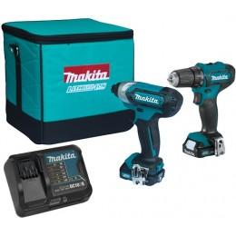 Набор инструментов Makita CLX224SA, , 7183.00 грн, Набор инструментов Makita CLX224SA, Makita, Наборы электроинструментов