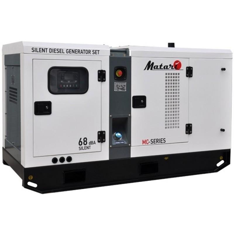 Электростанция дизельная Matari MC25S (Isuzu+Stamford) 328300.00 грн