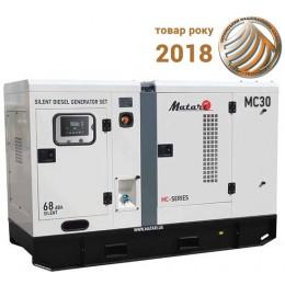 Электростанция дизельная Matari MC30, , 359900.00 грн, Электростанция дизельная Matari MC30, Matari, Генераторы, стабилизаторы