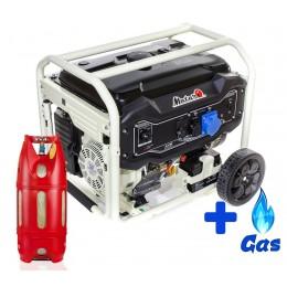 Бензо-газовый генератор Matari MX11000E LPG, , 31480.00 грн, Бензо-газовый генератор Matari MX11000E LPG, Matari, Двухтопливные генераторы