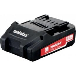 Аккумуляторный блок Metabo 18 В 2,0 Aг, Li Power Compact (625596000), , 1655.00 грн, Аккумуляторный блок Metabo 18 В 2,0 Aг, Li Power Compact (625596, Metabo, Аккумуляторы для электроинструмента