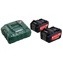 Базовый комплект Metabo Li-Power 18 В 5.2 Ач 2 шт +ASC 30-36 В (685051000)