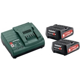 Набор Metabo BASIC SET 12V 2X2.0 Ah (685300000), , 2869.00 грн, Набор Metabo BASIC SET 12V 2X2.0 Ah (685300000), Metabo, Аккумуляторы метабо