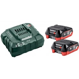 Набор Metabo BASIC SET 12V 2xLiHD 4.0 Ah (685301000), , 4202.00 грн, Набор Metabo BASIC SET 12V 2xLiHD 4.0 Ah (685301000), Metabo, Аккумуляторы метабо