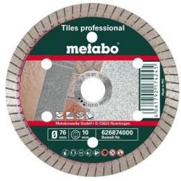Алмазный круг по керамике Metabo Professional TP 76x10 мм (626874000)