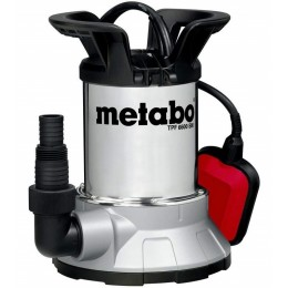 Погружной насос для чистой воды и откачки со дна Metabo TPF 6600 SN (250660006), 0250660006, 3524.00 грн, Погружной насос для чистой воды и откачки со дна Metabo TPF 6600, Metabo, Дренажные насосы