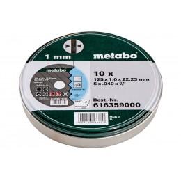 Набор отрезных кругов Metabo 125 мм 10 штук (616359000)