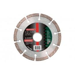 Алмазный диск Metabo 125x22,23 мм (624307000)