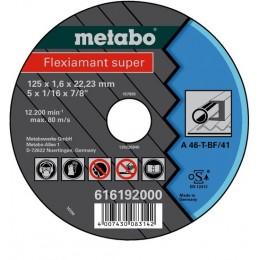 Диск отрезной Metabo Flexiamant super 125x1,6x22,2 мм A46-T (616192000)