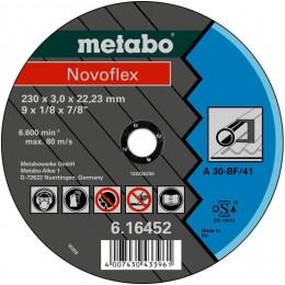 Диск отрезной Metabo Novoflex 230x3,0х22,2 мм A 30 (616452000)