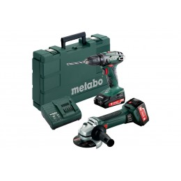 Набор Metabo Combo Set 2.4.3 18 V *BS18+W18, , 9799.00 грн, Набор Metabo Combo Set 2.4.3 18 V *BS18+W18, Metabo, Аккумуляторы метабо