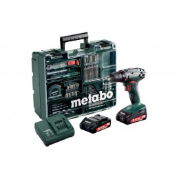 Набор Metabo BS 18 Mobile Workshop, , 5781.00 грн, Набор Metabo BS 18 Mobile Workshop, Metabo, Аккумуляторы метабо