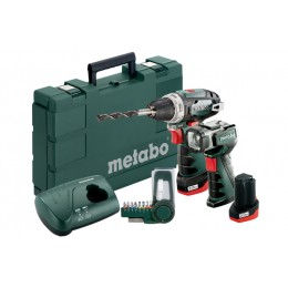 Набор Metabo PowerMaxx BS Basic, , 5313.00 грн, Набор Metabo PowerMaxx BS Basic, Metabo, Аккумуляторы метабо