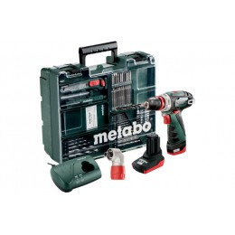 Набор Metabo PowerMaxx BS Quick Pro Mobile Workshop, , 8182.00 грн, Набор Metabo PowerMaxx BS Quick Pro Mobile Workshop, Metabo, Аккумуляторы метабо