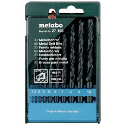 Набор сверл Metabo HSS-R, DIN 338 (627158000), , 212.00 грн, Набор сверл Metabo HSS-R, DIN 338 (627158000), Metabo, Наборы сверл