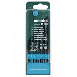Набор сверл Metabo HSS-R, DIN 338 (627160000), , 109.00 грн, Набор сверл Metabo HSS-R, DIN 338 (627160000), Metabo, Наборы сверл
