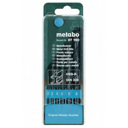 Набор сверл Metabo HSS-R, DIN 338 (627160000) 120.00 грн