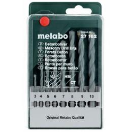 Набор сверл по бетону Metabo classic (627182000), , 372.00 грн, Набор сверл по бетону Metabo classic (627182000), Metabo, Наборы сверл