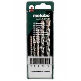 Набор сверл по бетону Metabo pro (627181000) 352.00 грн