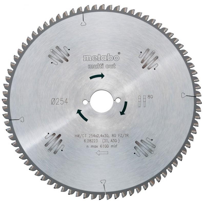 Пильный диск Metabo 220х2,6/1,6х30,Z=80FZ/TZ5neg,UK333/SE (628084000)