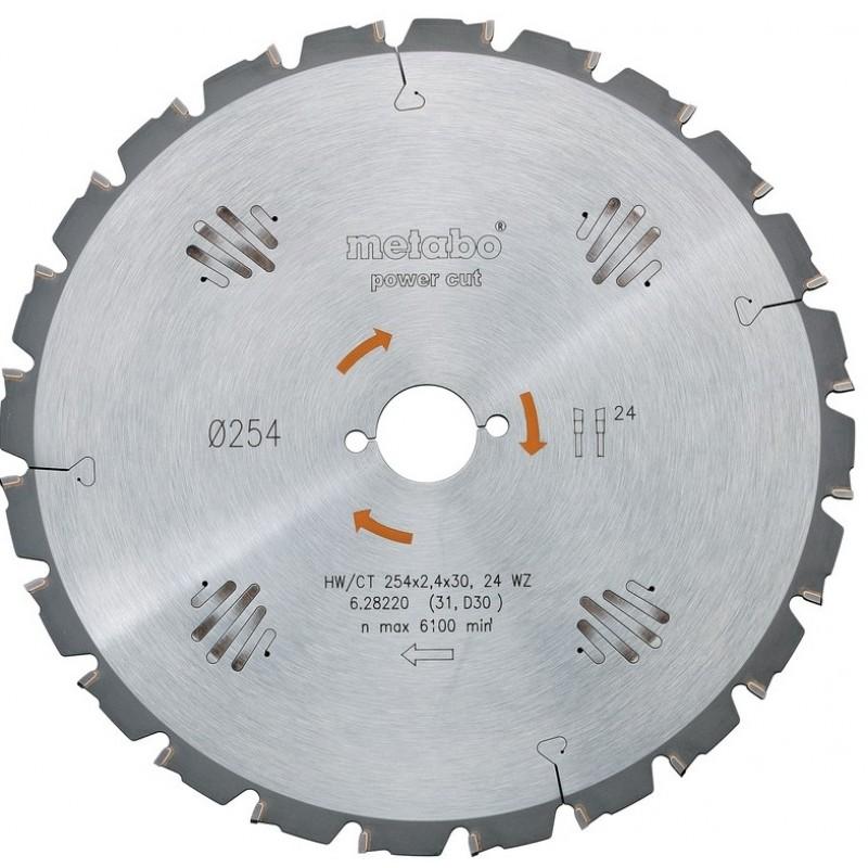 Пильный диск Metabo HW/CT 216x30 20 WZ 5 (628230000)