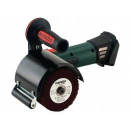 Аккумуляторная щеточная шлифмашина Metabo S 18 LTX 115 INOX (600154850) 8936.00 грн