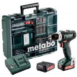 Аккумуляторный шуруповерт Metabo PowerMaxx BS 12 Set (601036870)