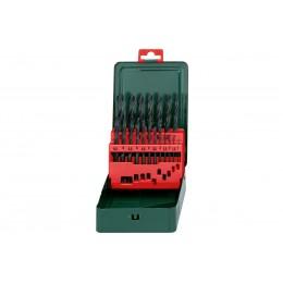 Набор сверл Metabo HSS-R, 1-10 x 0,5 мм (627151000) 261.00 грн