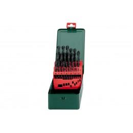 Набор сверл Metabo HSS-R, 1-13 x 0,5 мм (627152000) 479.00 грн
