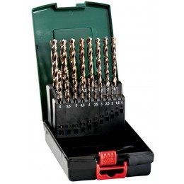Набор сверл Metabo по металлу HSS-Co SP 19 штук (627671000) 1435.00 грн
