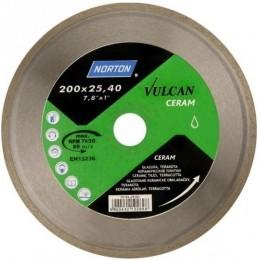 Диск алмазный Norton VULCAN TILE по керамике 200/ 25,4 x (мм) (70V022)