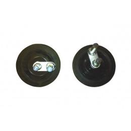 Комплект колес NTC для виброплит VDR22,26,32, , 5772.00 грн, Комплект колес NTC для виброплит VDR22,26,32, NTC, Комплектующие к дорожной технике
