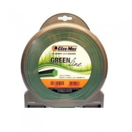 Косильная леска Oleo-Mac GREENLINE (2,4х15 м) (63040167), , 76.95 грн, Косильная леска Oleo-Mac GREENLINE (2,4х15 м) (63040167), Oleo-Mac, Леска