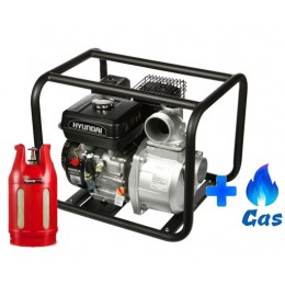 Мотопомпа Hyundai HY 83 LPG, , 9109.00 грн, Мотопомпа Hyundai HY 83 LPG, Hyundai, Мотопомпа для слабозагрязненной воды