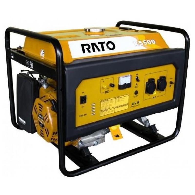 Бензиновый генератор Rato R5500Е 18548.00 грн