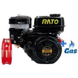 Бензо-газовый двигатель RatoR210 OF LPG, , 5034.00 грн, Бензо-газовый двигатель RatoR210 OF LPG, Rato, Бензо-газовые двигатели