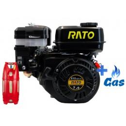 Бензо-газовый двигатель RatoR210 PF LPG, , 5034.00 грн, Бензо-газовый двигатель RatoR210 PF LPG, Rato, Бензо-газовые двигатели